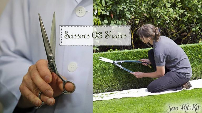 difference between scissors and shears