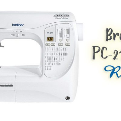 Brother PC-210 PRW Review | Project Runway Machine