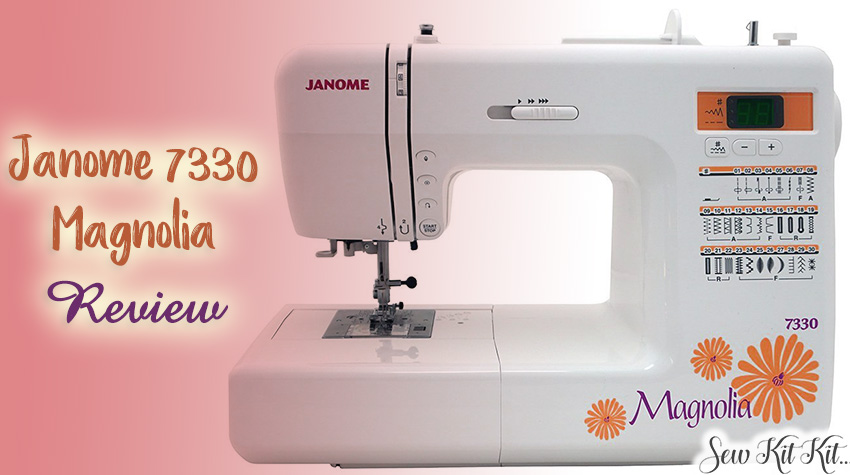 Janome MOD-30 Magnolia Sewing Machine   Review & Buyers Guide!