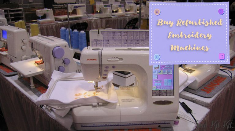 Buy Refurbished Embroidery Machines