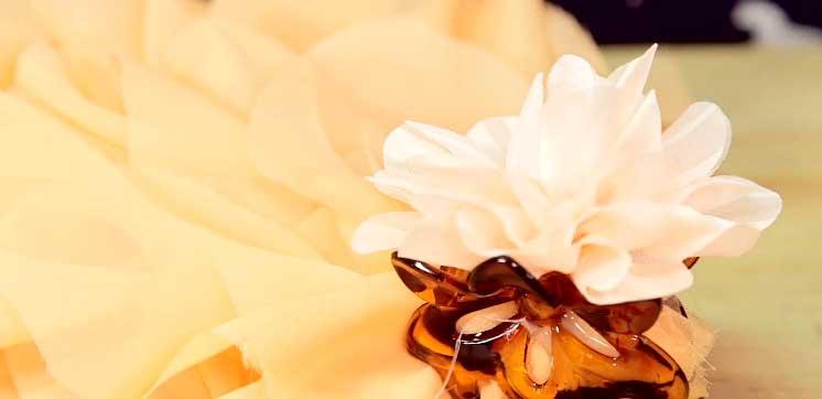 Glue Fabric Flower