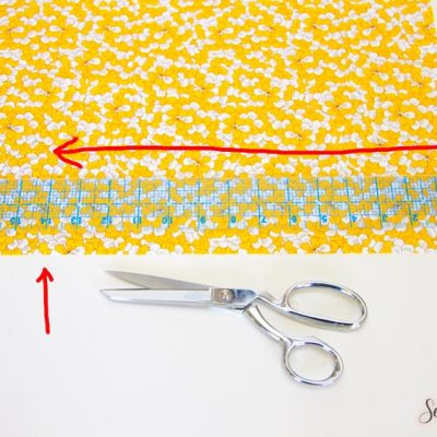 How to Cut Large Pieces of Fabric Straight