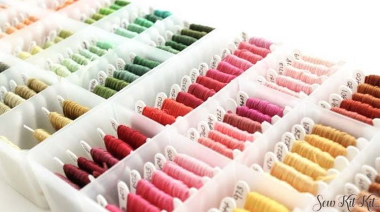 How to store embroidery floss 1