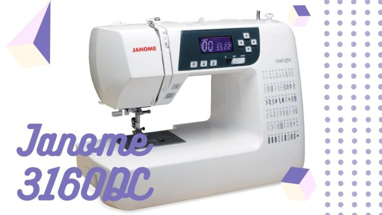 Janome 3160DC Featured Image
