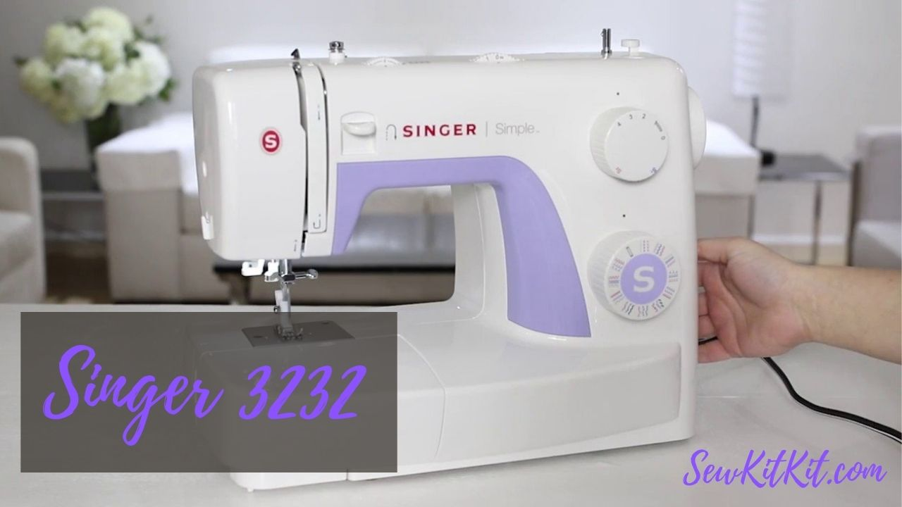 SINGER 3232 Simple Sewing Machine | Review & Buyers Guide!