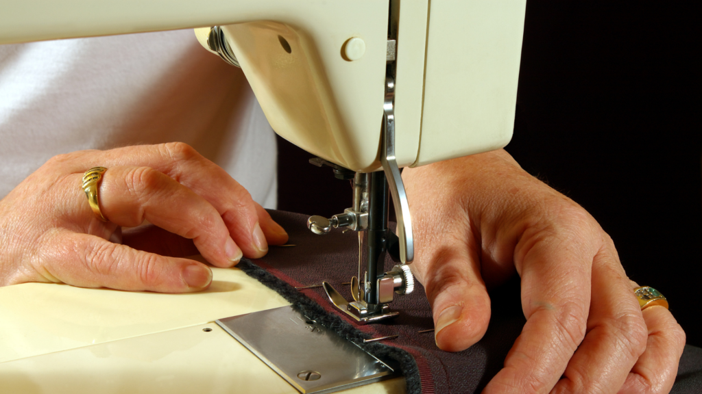 How to adjust sewing machine tension banner