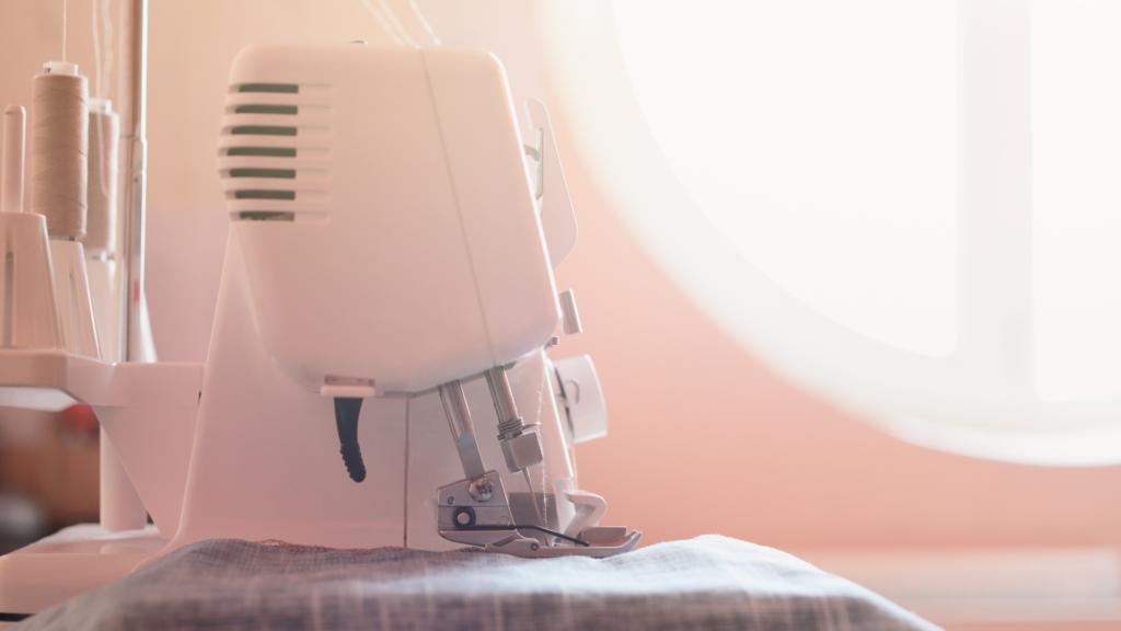 A modern sewing machine